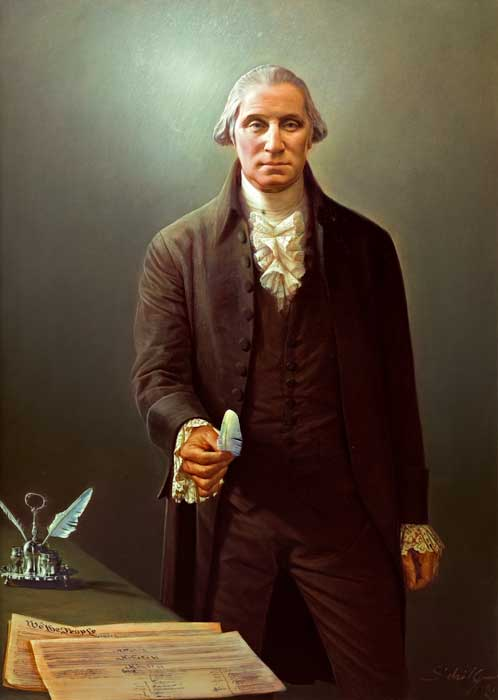 Robert Schoeller Painting: George Washington Portrait FP000