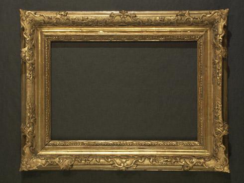 Vienna Gold Frame Painting By Robert Schoeller